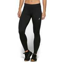 Asics Womens Sport Winter Running Tights Bottoms Pants Trousers Black Sports