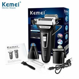 3 in 1 Electric Rechargeable Hair Cut Clipper Beard Ear Nose Shaver Trimmer Hot