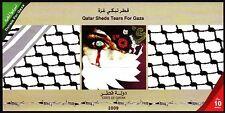 Qatar 2009 ** Bl.62 Solidarität mit Gaza Tears for Gaza