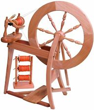 Ashford Double Drive Traditional Spinning Wheel Natural (Not Laquered) DDSW