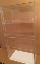 "Acrylic Display Case 12"" x 7""x 20.5"" tall  Convenience Store Counter Top Display"