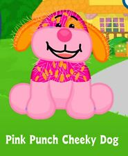 Webkinz Pink Punch Cheeky Dog (unused code tag only ) !CREDIBLE Proven Seller!