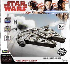REVELL Star Wars The Last Jedi Millennium Falcon w/Sound/ Light SNAP KIT 1668 ST