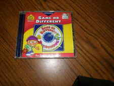1057) Preschool Same Or Different Cd Rom OnTrack Software Ages 3-5 Win/Mac