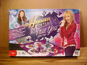"2008 Hasbro ""HANNAH MONTANA TRUE YOU"" Board Game - VG Complete & Clean Condition"