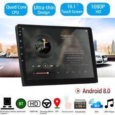 2DIN 10'' Ultra-thin Car Stereo Android 8.0 GPS WIFI bluetooth Radio MP5  v