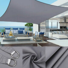 Outdoor Garden Patio Sun Shade Sail Canopy Awning Waterproof 98% UV Protect New