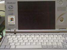 Toshiba Libretto 50CT-Windows 95-Mini Netbook/Lap-+docking station work tested