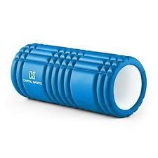 Foam Roller Trigger Point Rullo Massaggi Palestra Esercizio Fitness Muscoli Blu