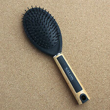 Oval Paddle Cushion Hairbrush With Mirror Prevent Hair Loss Masage Scalp Brush