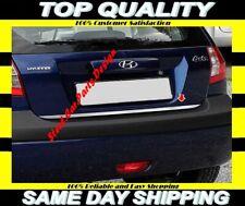 Chrome Rear Trunk Under Trim S.STEEL Hyundai Getz 2002 onwards