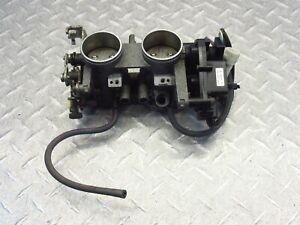 2005 05-09 Suzuki VL1500 C90 Boulevard Throttle Body Bodies Intake Assembly