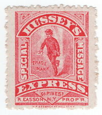 (I.B) US Local Post : Hussey's Special Message Express