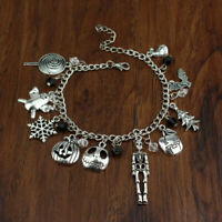 Halloween Bracelet Jack Skellington The Nightmare Before Christmas Unisex Gift