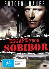 ESCAPE FROM SOBIBOR - RUTGER HAUER- NEW & SEALED DVD