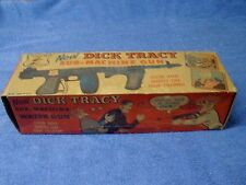 vintage 1940's (?) Dick Tracy Sub-Machine Water Gun box ( only)