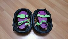 RARE Vintage 1989 Moon Shoes Hart Purple And Neon