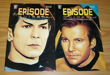 Original Star Trek Episode Guides #1-2 VF/NM complete series - shatner - nimoy