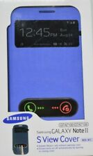 Samsung Galaxy Note II S view cover with NFC (GT-N7100/GT-N7108) Blue