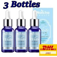 3 Bottles Natcha White Serum Dark spot Skin Anti Acne Wrinkles Reduce (30 ml)