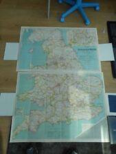 England 1900-1909 Date Range Antique Europe Folding Maps