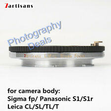 7artisans LM-L Macro Adapter Helicoid For Leica M Zeiss ZM Lens to Leica T SL TL