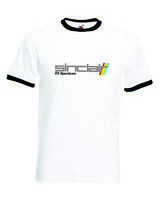 ZX Spectrum Retro Computer Video Gaming Ringer T-Shirt