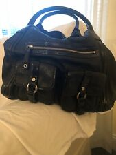 Cole Haan Black Leather Handbag XLarge Beautiful Bag Extremely