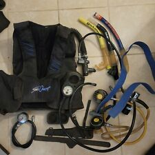 Dive gear and vest