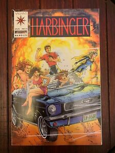 Harbinger #1 (1992) Valiant 1st print with coupon! Exceptionally sharp NM 9.4!