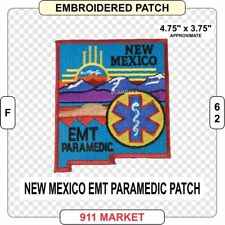 New Mexico EMT Paramedic Patch NM State EMS Emergency Medical Technician - F 62