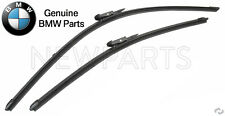 For BMW F30 F31 F34 F80 Front Windshield Wiper Blade Set Genuine 61-61-2-241-375