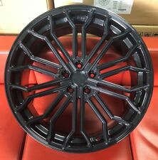 "20"" VELARE VLR04 ALLOY WHEELS FITS RANGE ROVER JAGUAR VOLVO FORD 5X108 BLACK"