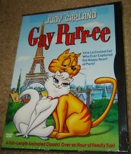 Gay Purr-Ee (DVD, 2003), NEW & SEALED, WIDESCREEN, REGION 1, WITH JUDY GARLAND!!