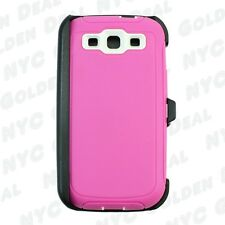 For Samsung Galaxy S3 Case Cover(Belt Clip Fits Otterbox Defender Series)