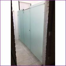 Frosted 10mm Toughen Glass Shower Screen Free On Site QUOTATION*