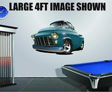 DB 1955 Chevy Pickup Wall Graphic Decal Vinyl Sticker Peel Stick Cartoon Car 2ft