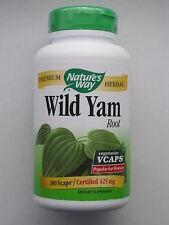Yamswurzel Wild Yam Root 425 mg 180 Vcaps Ihre Anti Aging Wirkstoff