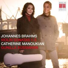 Johannes Brahms : Johannes Brahms: Violin Sonatas 1-3 CD (2014) ***NEW***