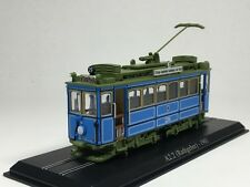 Atlas 1:87 scale Tram A2.2 (Rathgeber) 1901 Diecast model