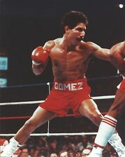 WILFREDO GOMEZ 8X10 PHOTO BOXING PICTURE CLOSE UP ACTION