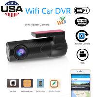 1080P Hidden WIFI Auto Car DVR Camera Video Recorder Dash Cam G-Sensor Camcorder