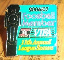 VIFA - Valley International Foosball Association - 2006/07 Member 11th Annual