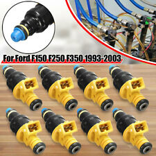 8Pcs Fuel Injectors For Ford F150 F250 F350 Crown Victoria V8 5.0 5.8 4.6 5.4L