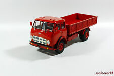 Scale model of the car 1/43. MAZ-500A 1973 (red)