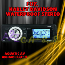 AQUATIC AV FOR HARLEY DAVIDSON BLUETOOTH REPLACEMENT RADIO FITS, 98-2013