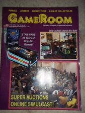 GameRoom Magazine Jun 2004 Vol 16. No 6. Free Shipping!
