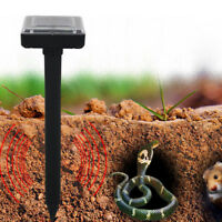 2PC Green Round Ultrasonic Pest Repeller Gopher Snake Mouse Pest Repeller i9Nh