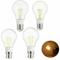 12V Vintage LED Edison Bulb Retro E27 B22 Bayonet 3W 4W 6W Light Lamp 85-265V