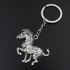 Vintage Jewellery Gifts Tibetan Silver Horse Keychain Keyrings For Men Boys New